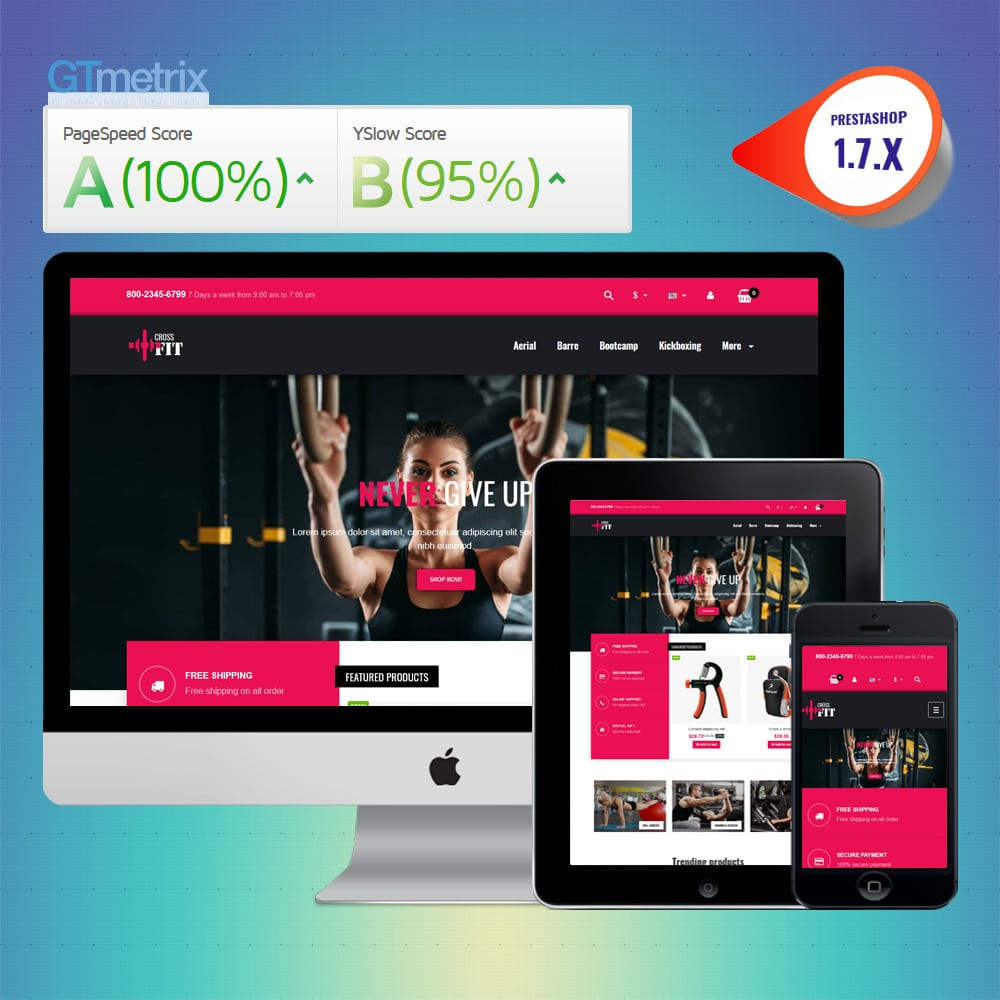 theme - Sports, Activities & Travel - VP_Crossfit - Page Builder - 1