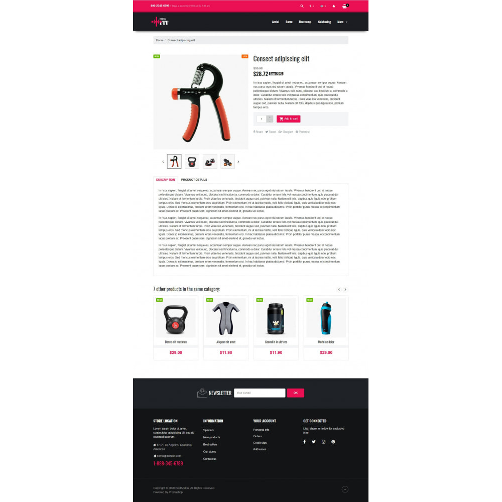 theme - Sports, Activities & Travel - VP_Crossfit - Page Builder - 4
