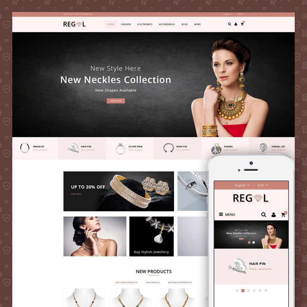 theme - Animais - Regal - Jewellery Store - 1