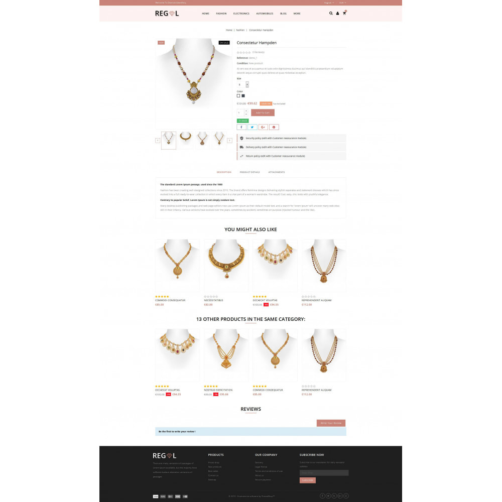 theme - Animaux - Regal - Jewellery Store - 5