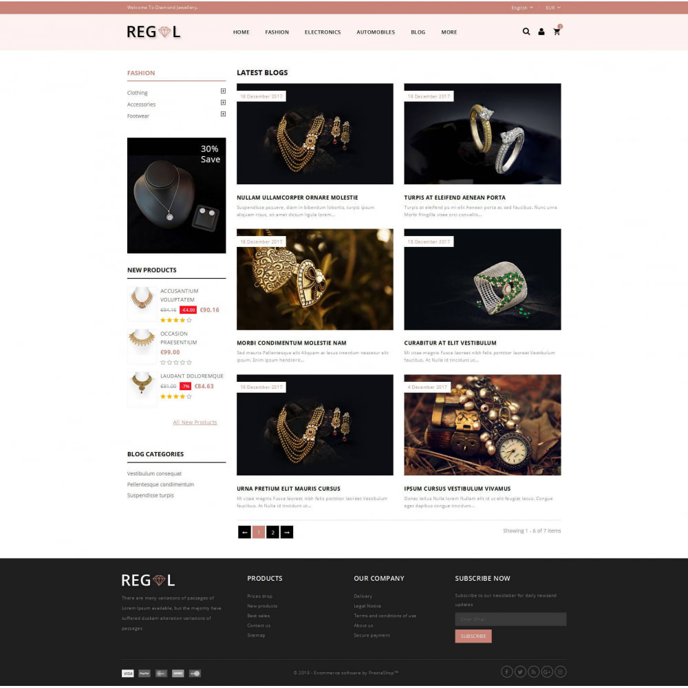 theme - Animais - Regal - Jewellery Store - 9