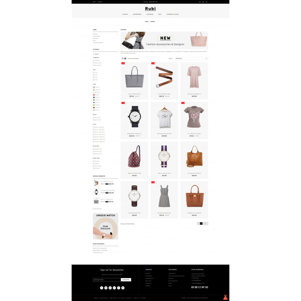 theme - Mode & Schoenen - Rubi - Apparel Store - 3