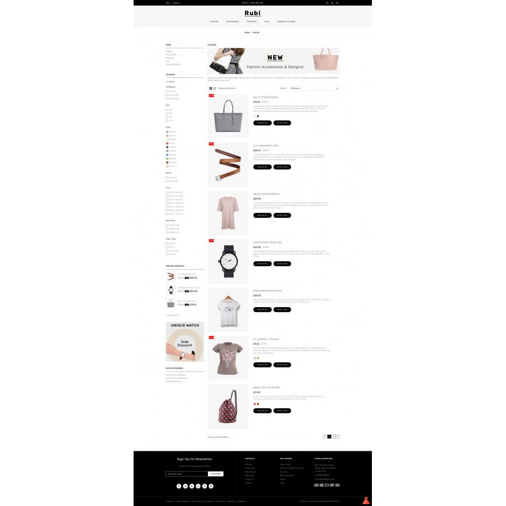 theme - Moda & Calçados - Rubi - Apparel Store - 4