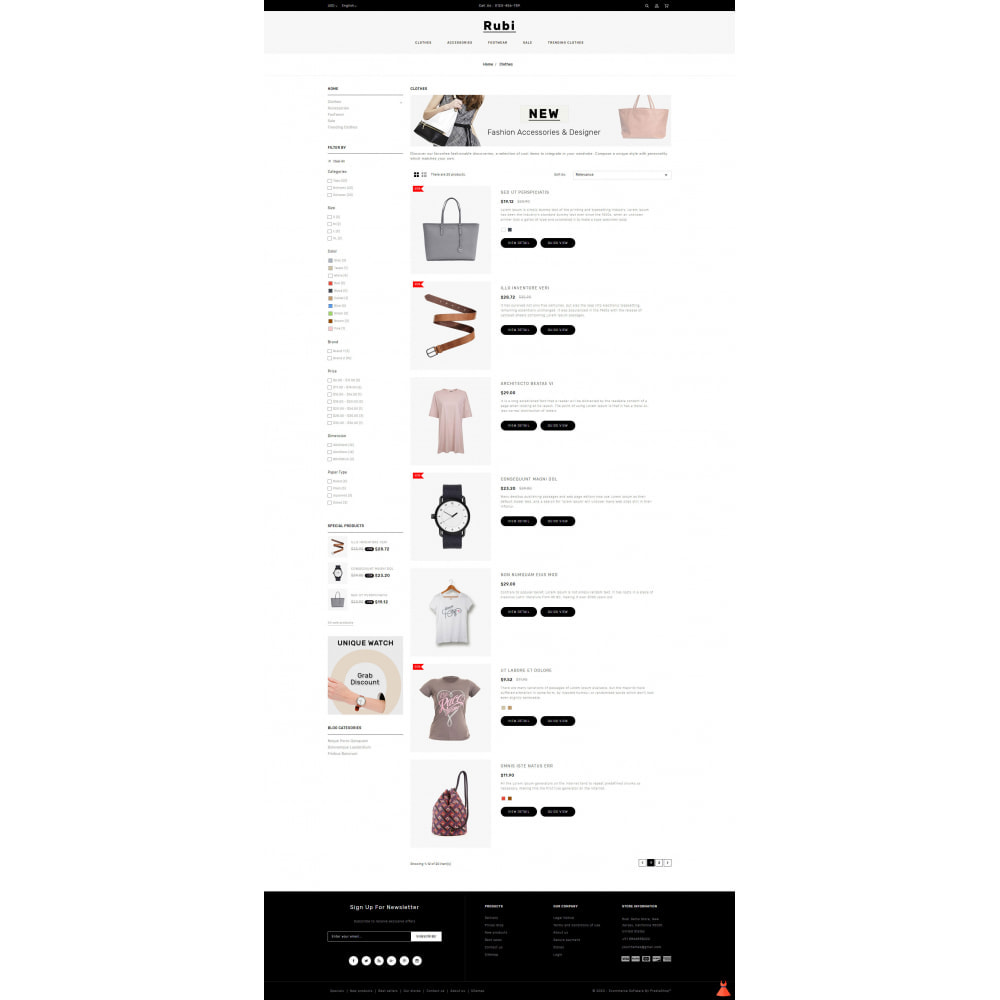 theme - Moda & Calzature - Rubi - Apparel Store - 4