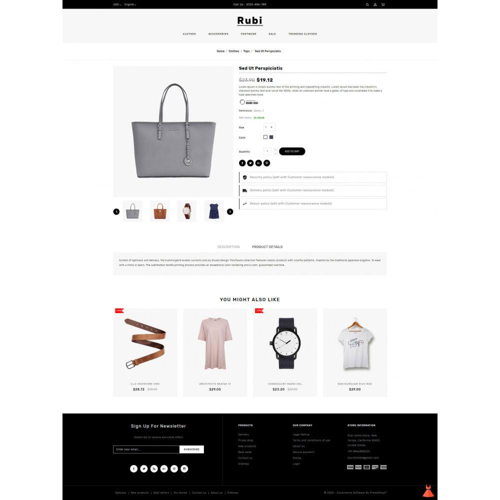 theme - Moda & Calçados - Rubi - Apparel Store - 5