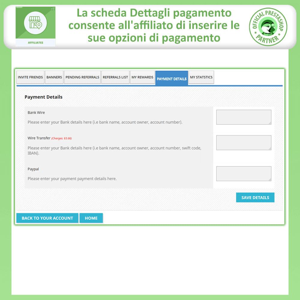 module - Indicizzazione a pagamento (SEA SEM) & Affiliazione - Affiliati e programma referral - 9