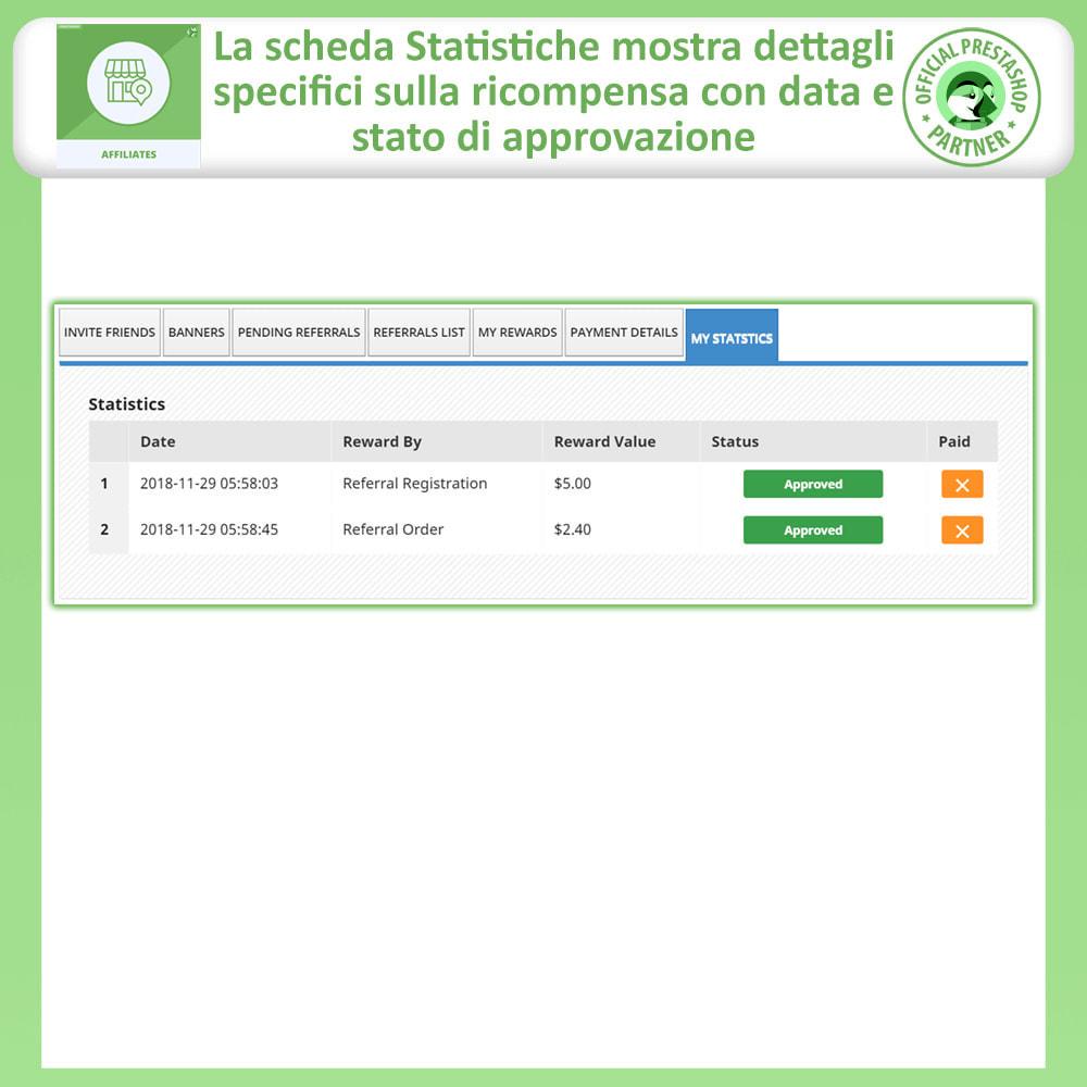 module - Indicizzazione a pagamento (SEA SEM) & Affiliazione - Modulo Pro Affiliati - 10