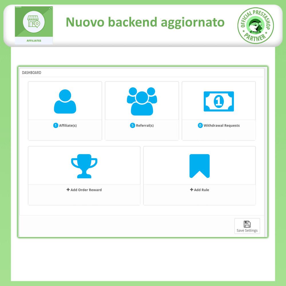 module - Indicizzazione a pagamento (SEA SEM) & Affiliazione - Affiliati e programma referral - 12