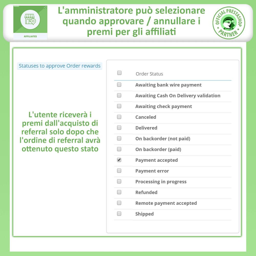 module - Indicizzazione a pagamento (SEA SEM) & Affiliazione - Modulo Pro Affiliati - 15