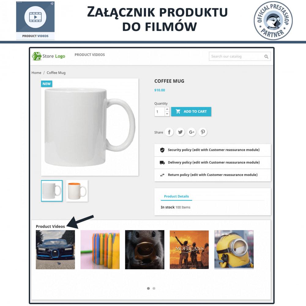 module - Wideo & Muzyka - Product Videos - Upload or Embed YouTube, Vimeo - 4