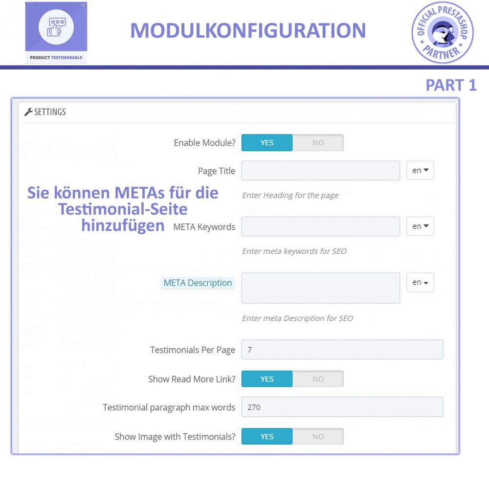 module - Kundenbewertungen - Kunden Produktbewertungen + Shop Bewertungen - 8