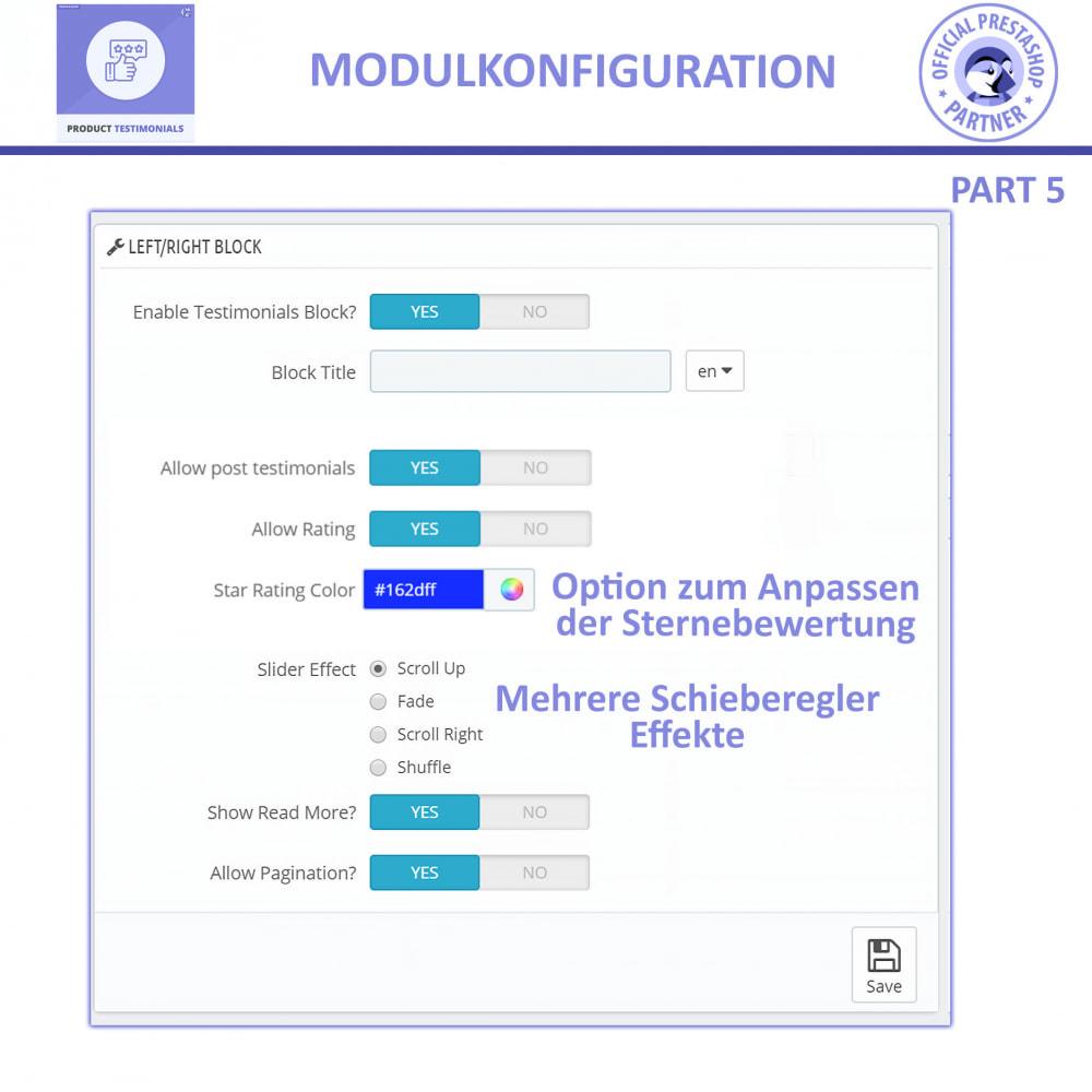 module - Kundenbewertungen - Kunden Produktbewertungen + Shop Bewertungen - 12