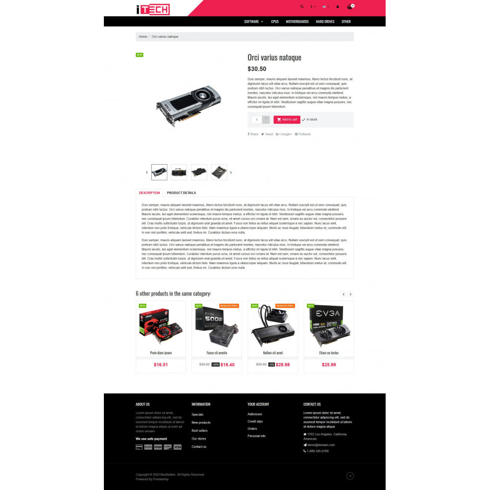 theme - Elektronika & High Tech - VP_ITech - Page Builder - 4