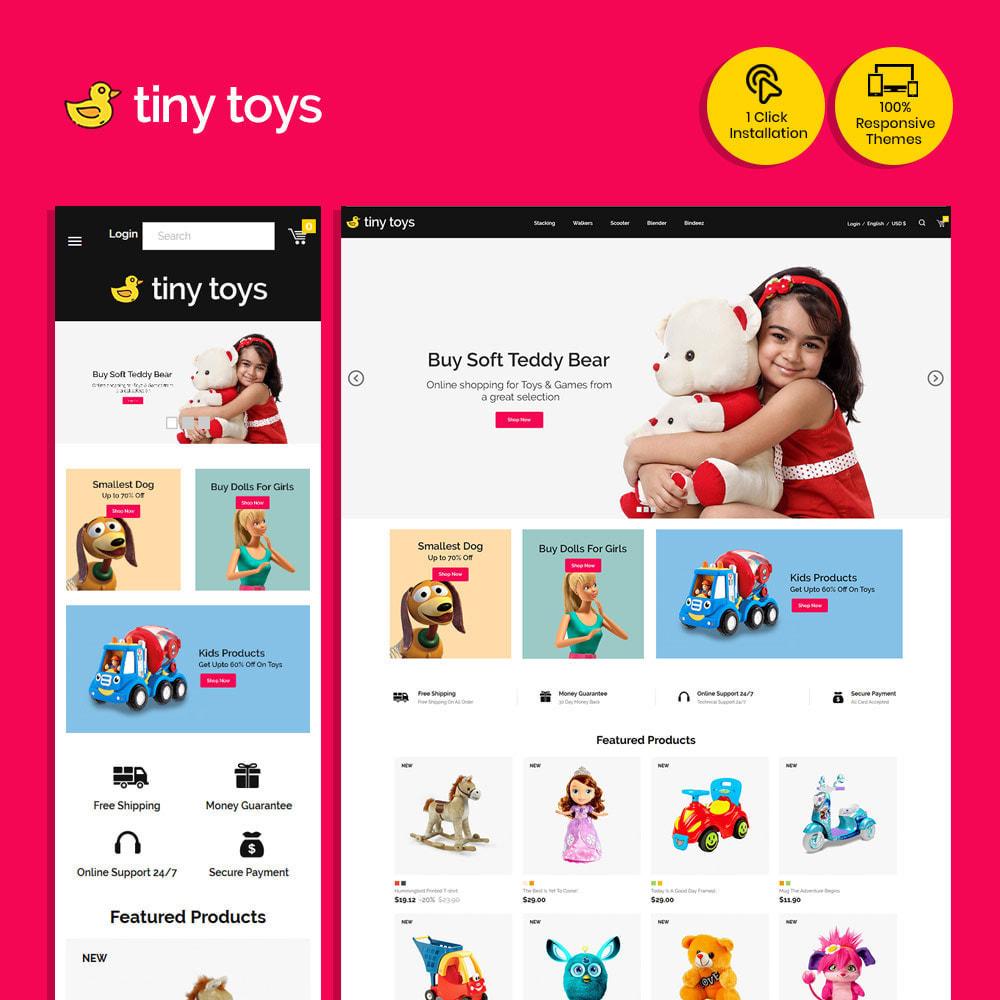 theme - Bambini & Giocattoli - Tuny Baby Kids - Negozio di giocattoli - 1