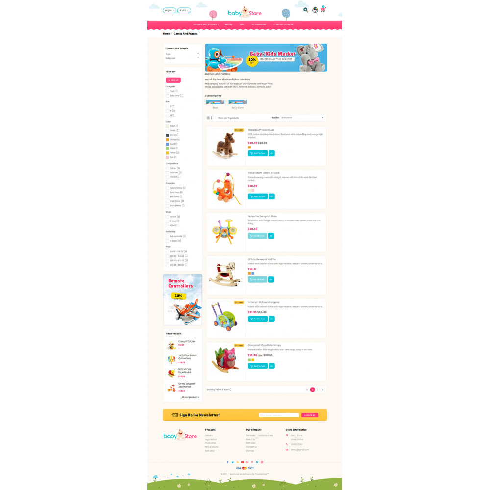 theme - Kids & Toys - Baby Toy Store - 4