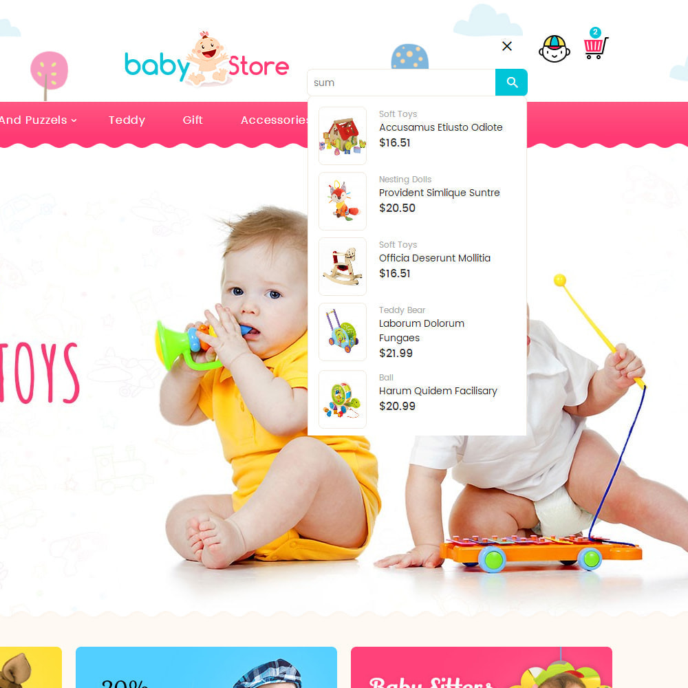 theme - Kids & Toys - Baby Toy Store - 10