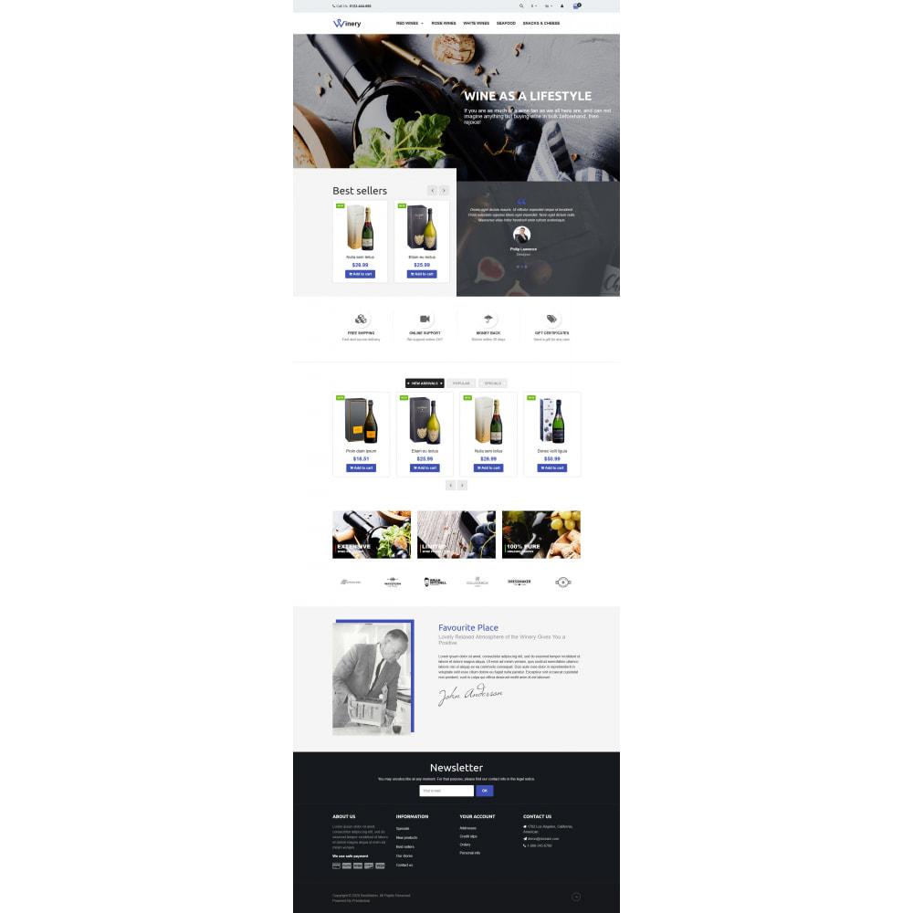 theme - Bebidas y Tabaco - VP_Winery - Page Builder - 2