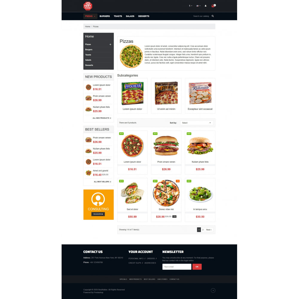 theme - Food & Restaurant - VP_Fastfood - Page Builder - 3
