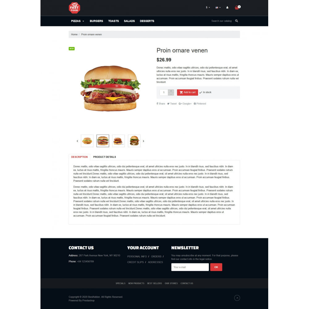 theme - Food & Restaurant - VP_Fastfood - Page Builder - 4
