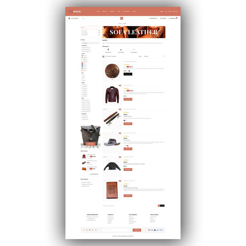 theme - Мода и обувь - Oilworn - Leather Store - 5