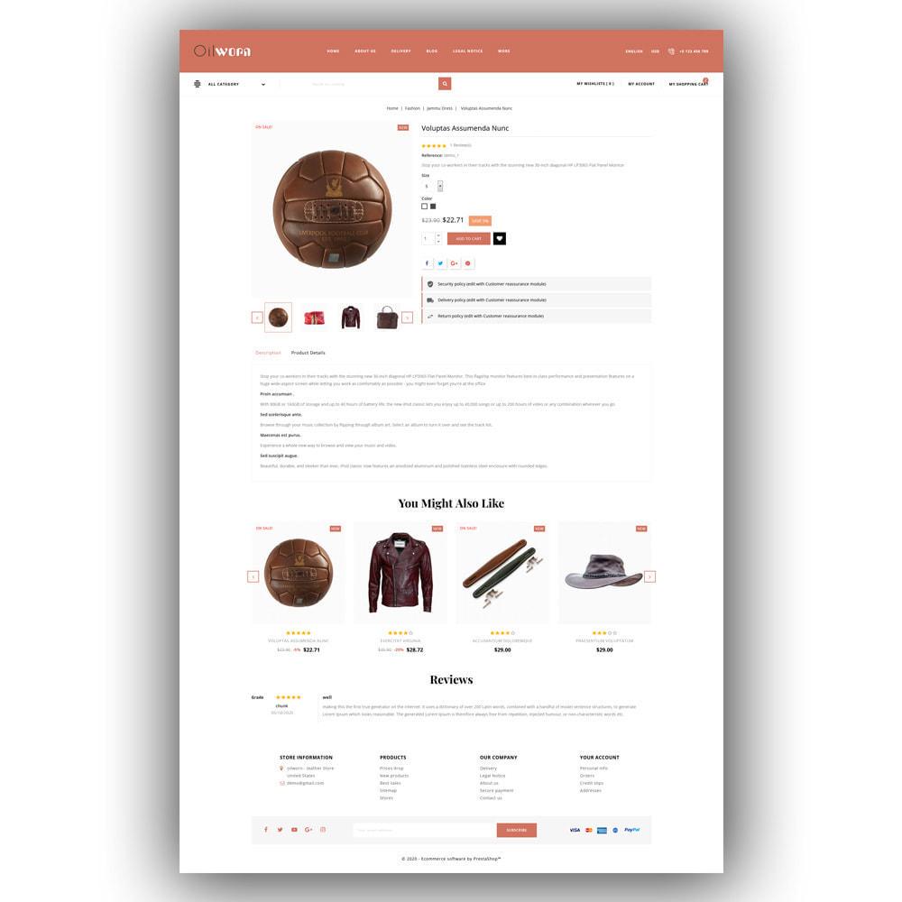 theme - Мода и обувь - Oilworn - Leather Store - 6