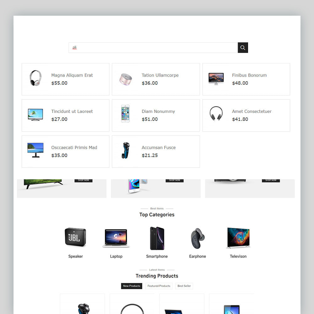 theme - Electrónica e High Tech - Eronix Mega Electronic Super Store Template - 4