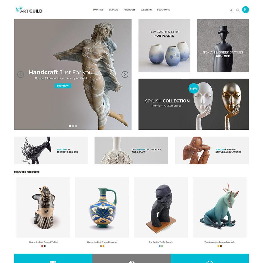 theme - Arte y Cultura - Art Guild Handcraft - Tienda de pintura - 3