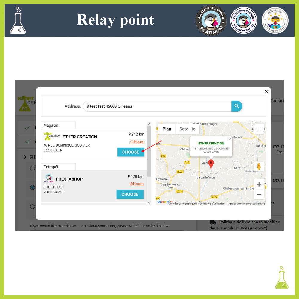 module - Abholstationen & Selbstabholer - Manage your relay points - 5