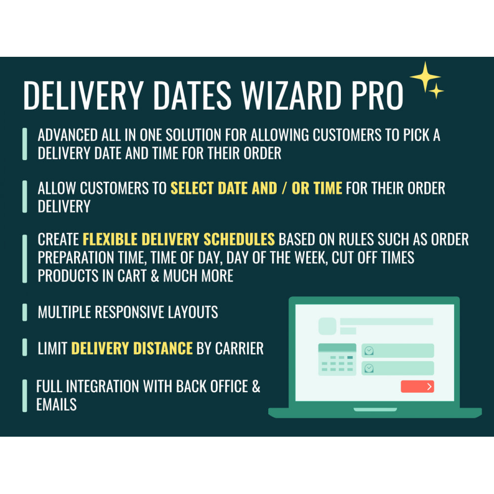module - Data dostawy - Delivery Dates Wizard Pro - 1