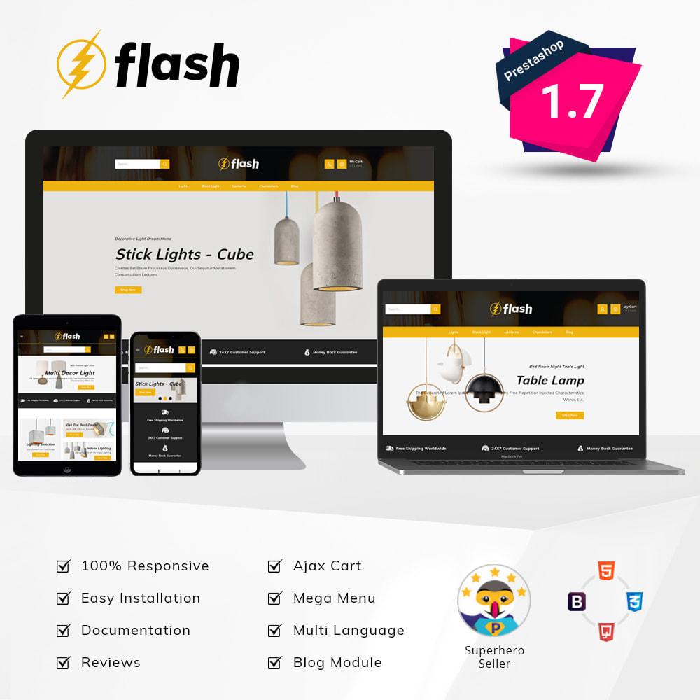 theme - Casa & Giardino - Flash - Home Decor Light Store - 1