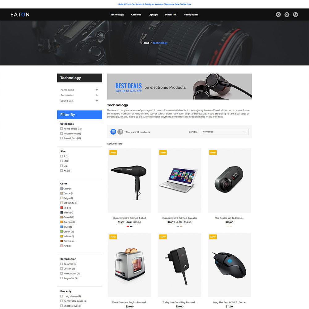 theme - Electrónica e High Tech - Mobile - Magasin de drones numériques informatiques - 4
