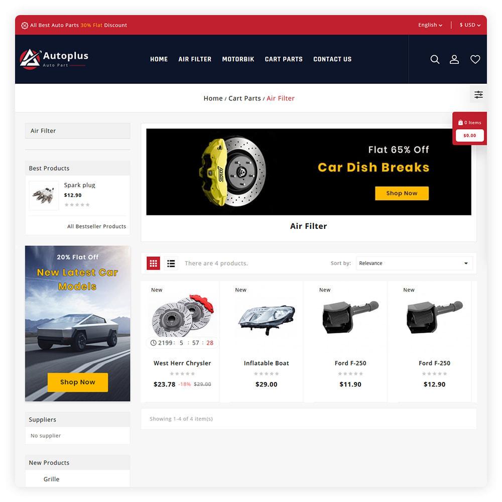 theme - Automotive & Cars - AutoPlus Autopart Store - 3