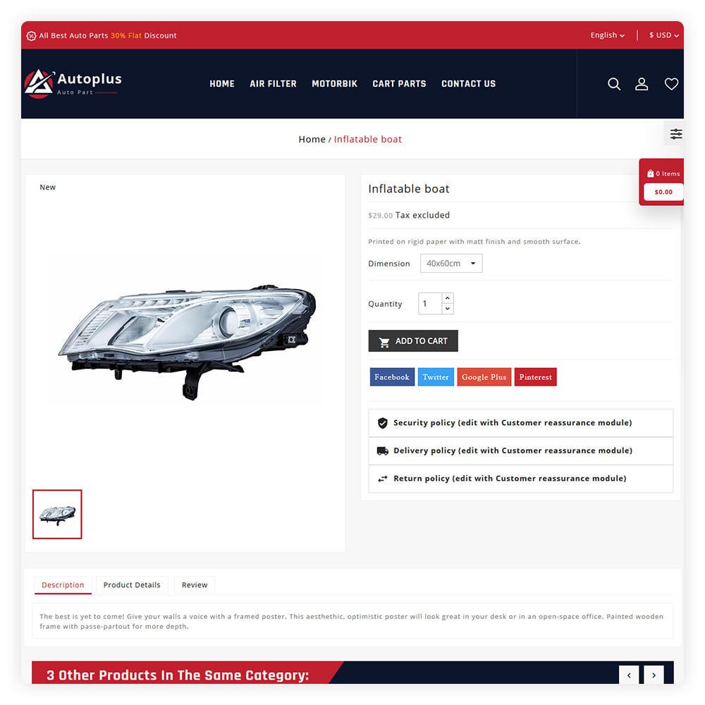 theme - Automotive & Cars - AutoPlus Autopart Store - 5