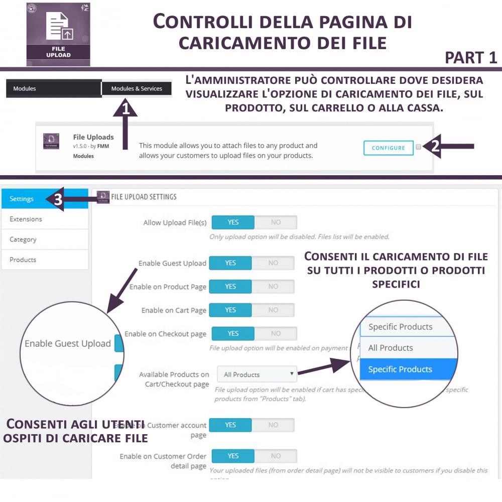 module - Altre informazioni & Product Tab - Caricamento File da Parte del Cliente - 8