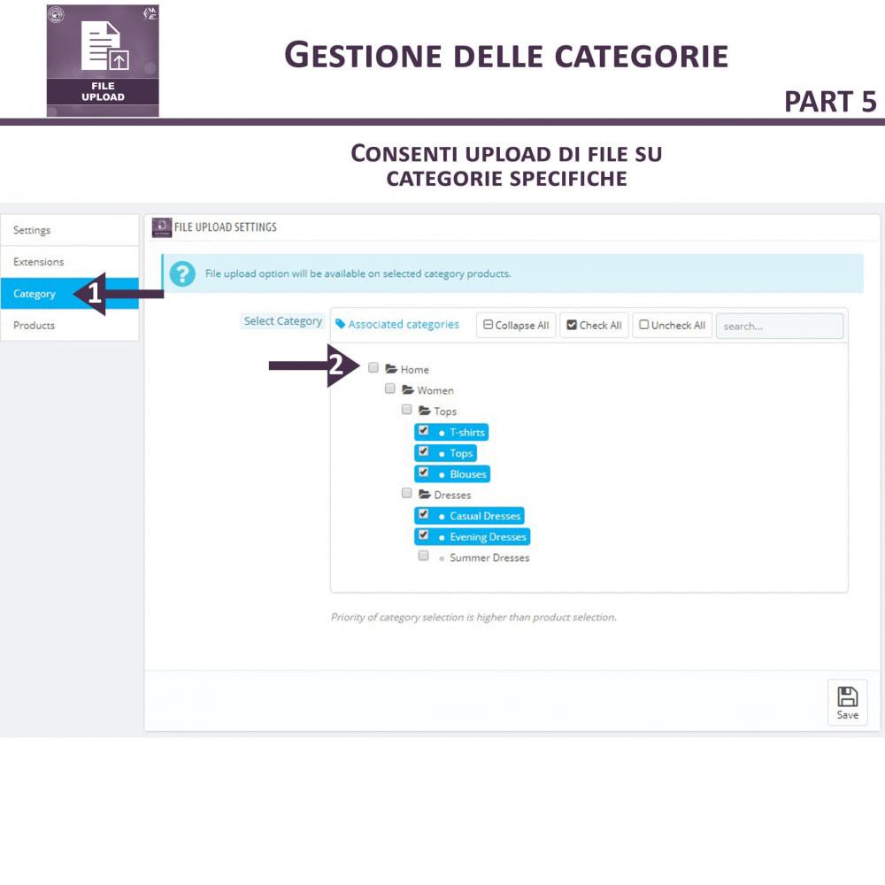 module - Altre informazioni & Product Tab - Caricamento File da Parte del Cliente - 12