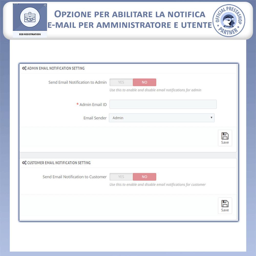 module - Iscrizione e Processo di ordinazione - Registrazione B2B - 9