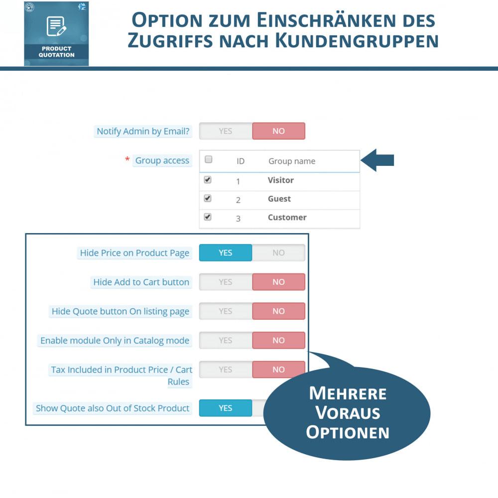 module - Angebotsmanagement - Produkt Zitat Modul - 11