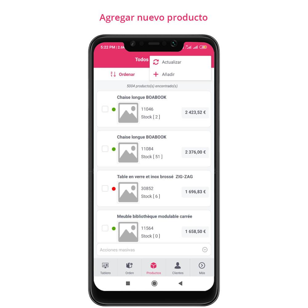 module - Dispositivos móviles - FE Presta Admin App - fácil a gestionar Tienda admin - 21