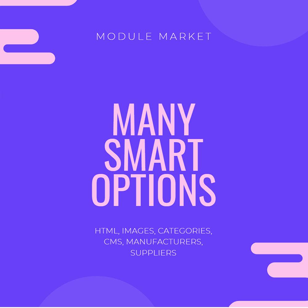 module - Menu - Smartmenu - megamenu drag and drop builder - 2