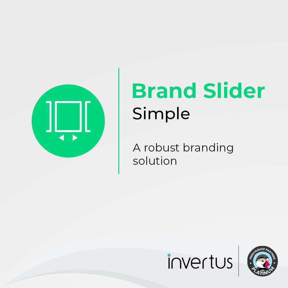 module - Marche & Produttori - Brand Slider Simple - 1