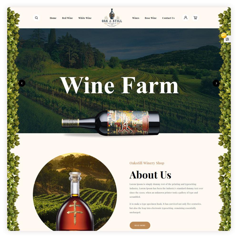 theme - Drink & Wine - OAK & Still Wine Shop - 2