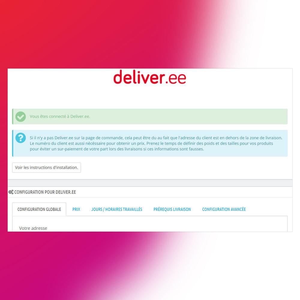 module - Transport & Logistique - Deliver.ee - Livraison coursier immédiate ou sur RDV - 4