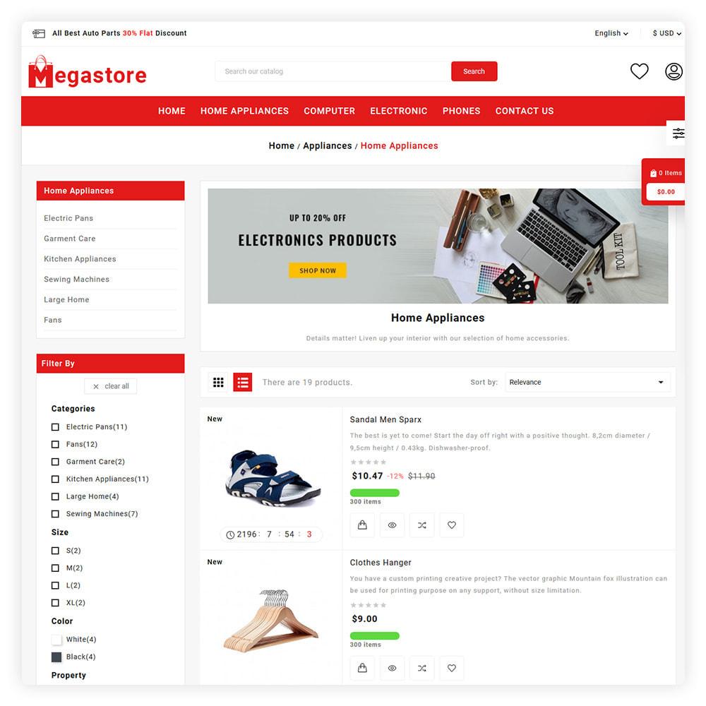 theme - Auto's & Motoren - Mega Store - 4