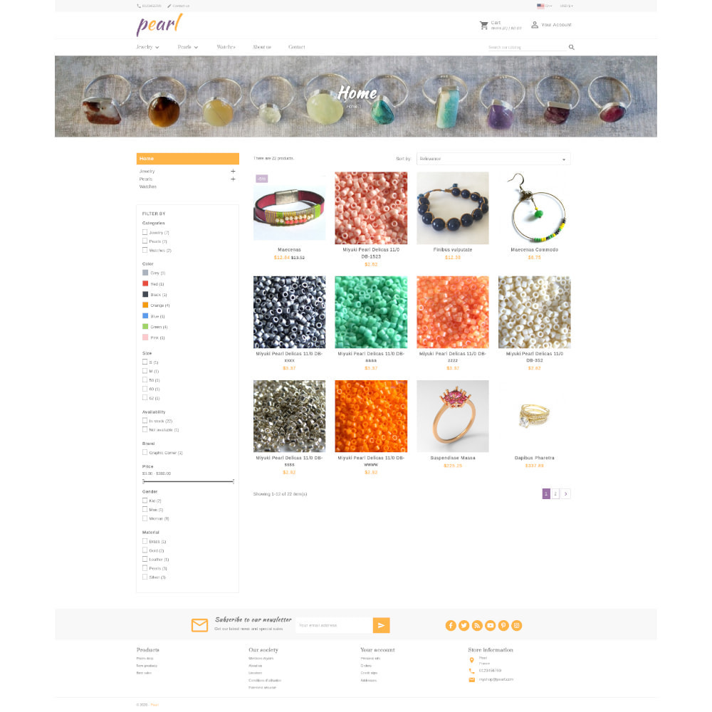 theme - Jewelry & Accessories - Pearl - 2