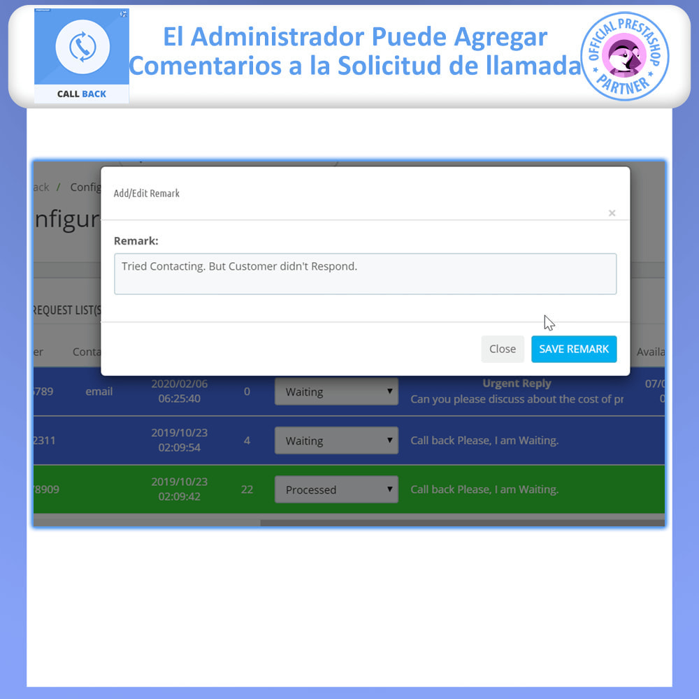 module - Asistencia & Chat online - Call Back - Fixed & Floating Call Back Form - 6
