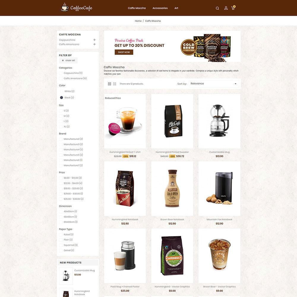 theme - Drink & Tobacco - CoffeeCafe Store - 3