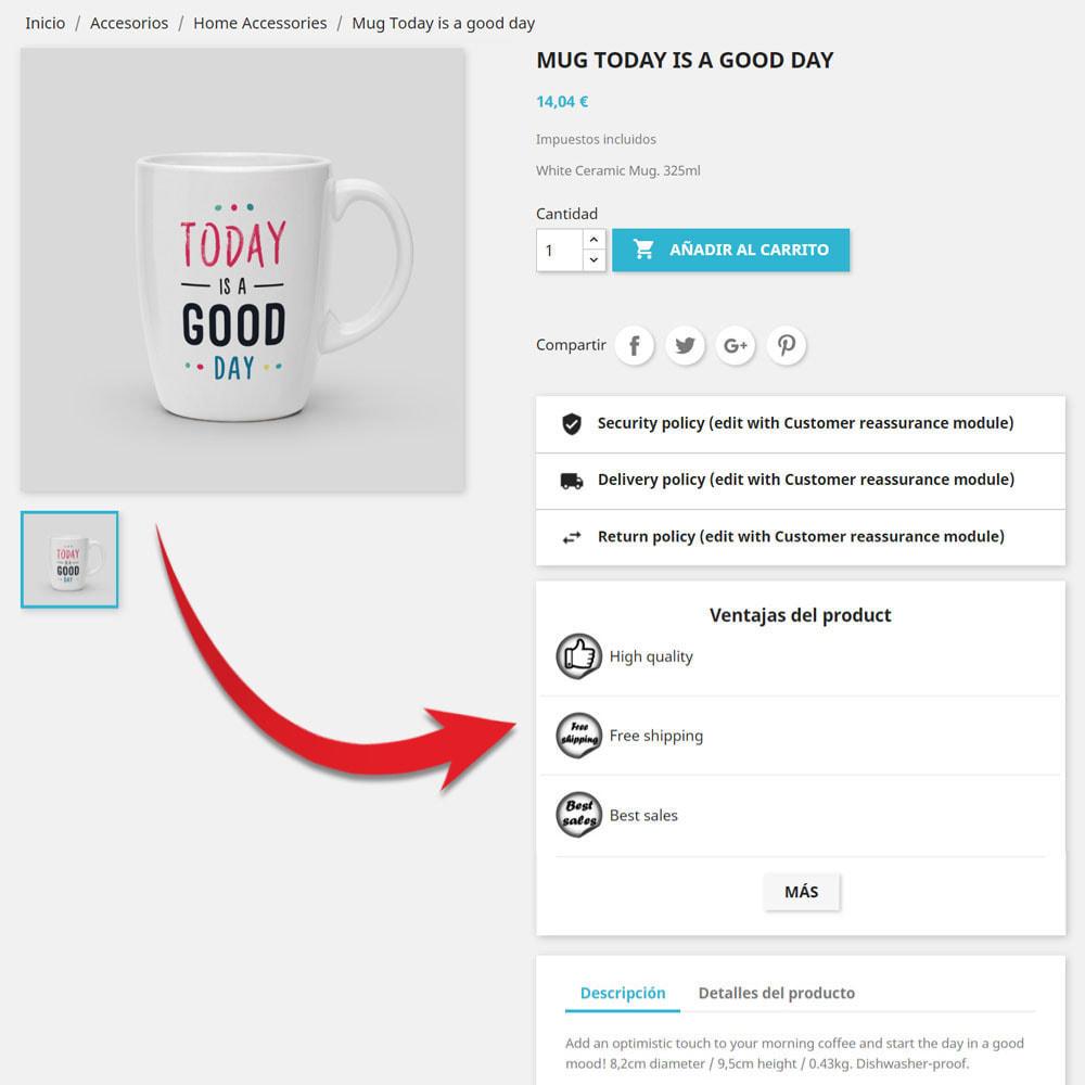 module - Etiquetas y Logos - Iconos de widgets personalizados - 2