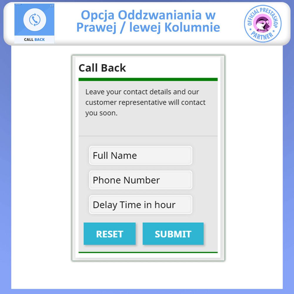 module - Wsparcie & Czat online - Oddzwonienie-ustalony i zmienny formularz oddzwaniania - 10