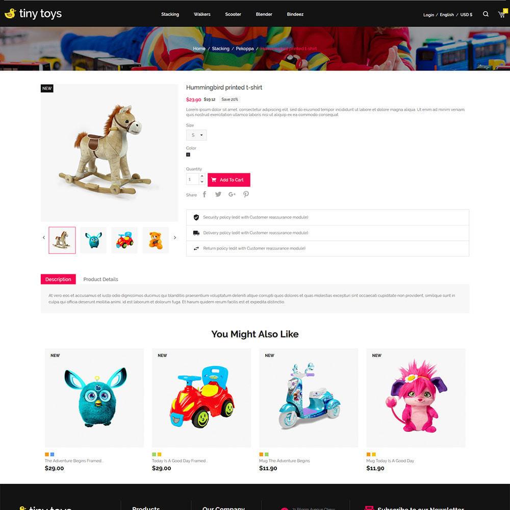theme - Bambini & Giocattoli - Tuny Baby Kids - Negozio di giocattoli - 6