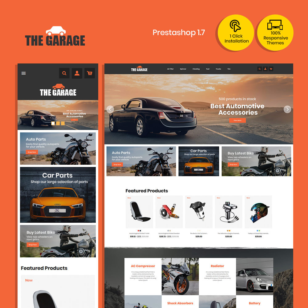 theme - Auto & Moto - The Garage Car - Magasin d'automobiles - 4